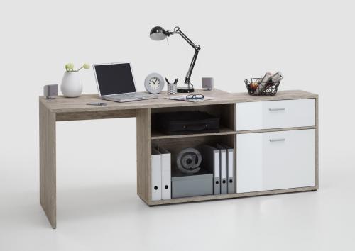 regal futura 3 up sandeiche nachbildung hochglanz weiss. Black Bedroom Furniture Sets. Home Design Ideas