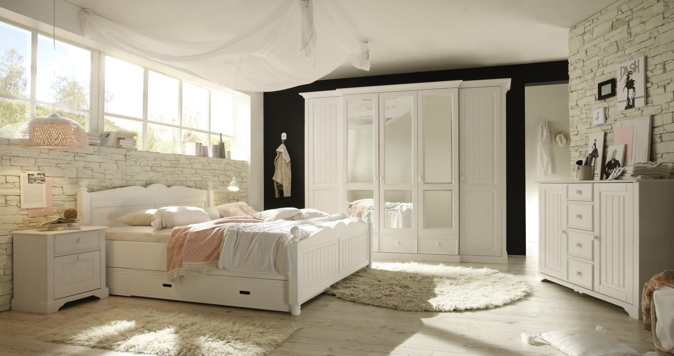 kommode mit aufsatz cinderella kiefer teilmassiv weiss. Black Bedroom Furniture Sets. Home Design Ideas