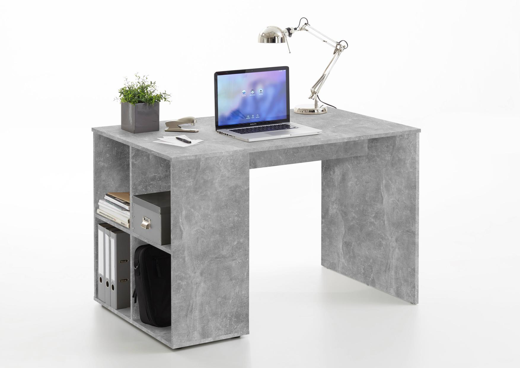 schreibtisch gent beton light atelier nachbildung. Black Bedroom Furniture Sets. Home Design Ideas